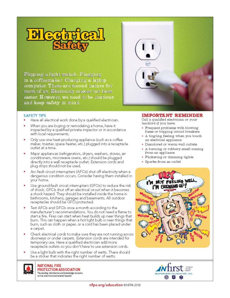 Electrical Safety Tips for Fire Prevention