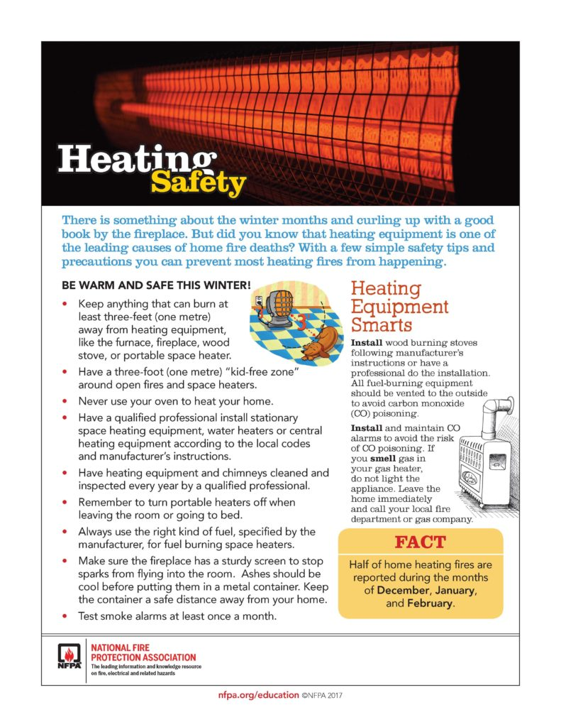 Heating Safety Tips for Fire Prevention